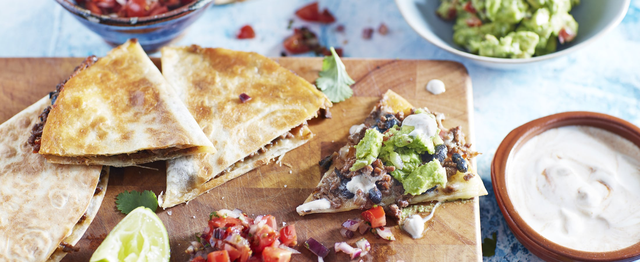 Mexican Beef Quesadilla