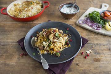 Bombay Vegetable Biryani