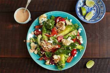 Chipotle Grilled Cauli Salad