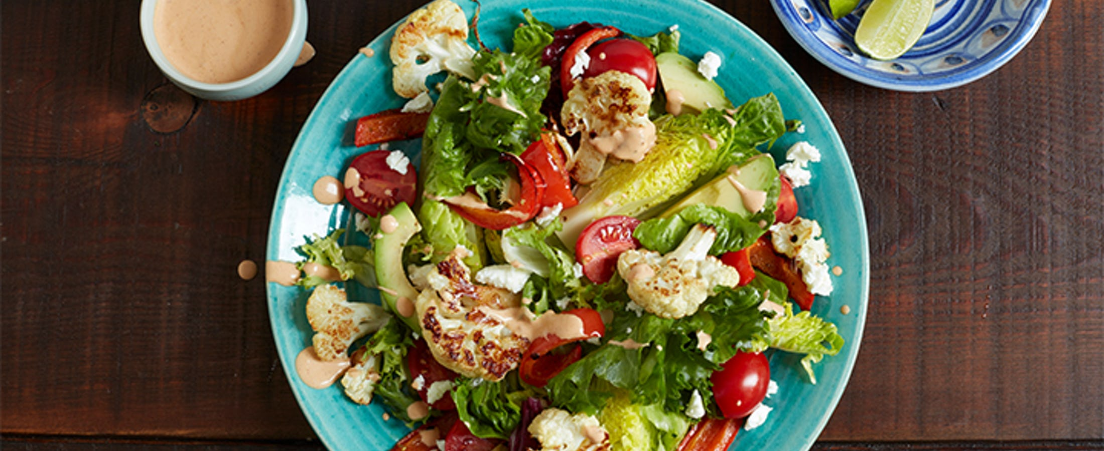 Chipotle Grilled Cauli Salad