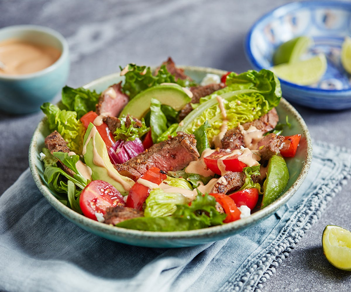 Chipotle Grilled Steak Salad