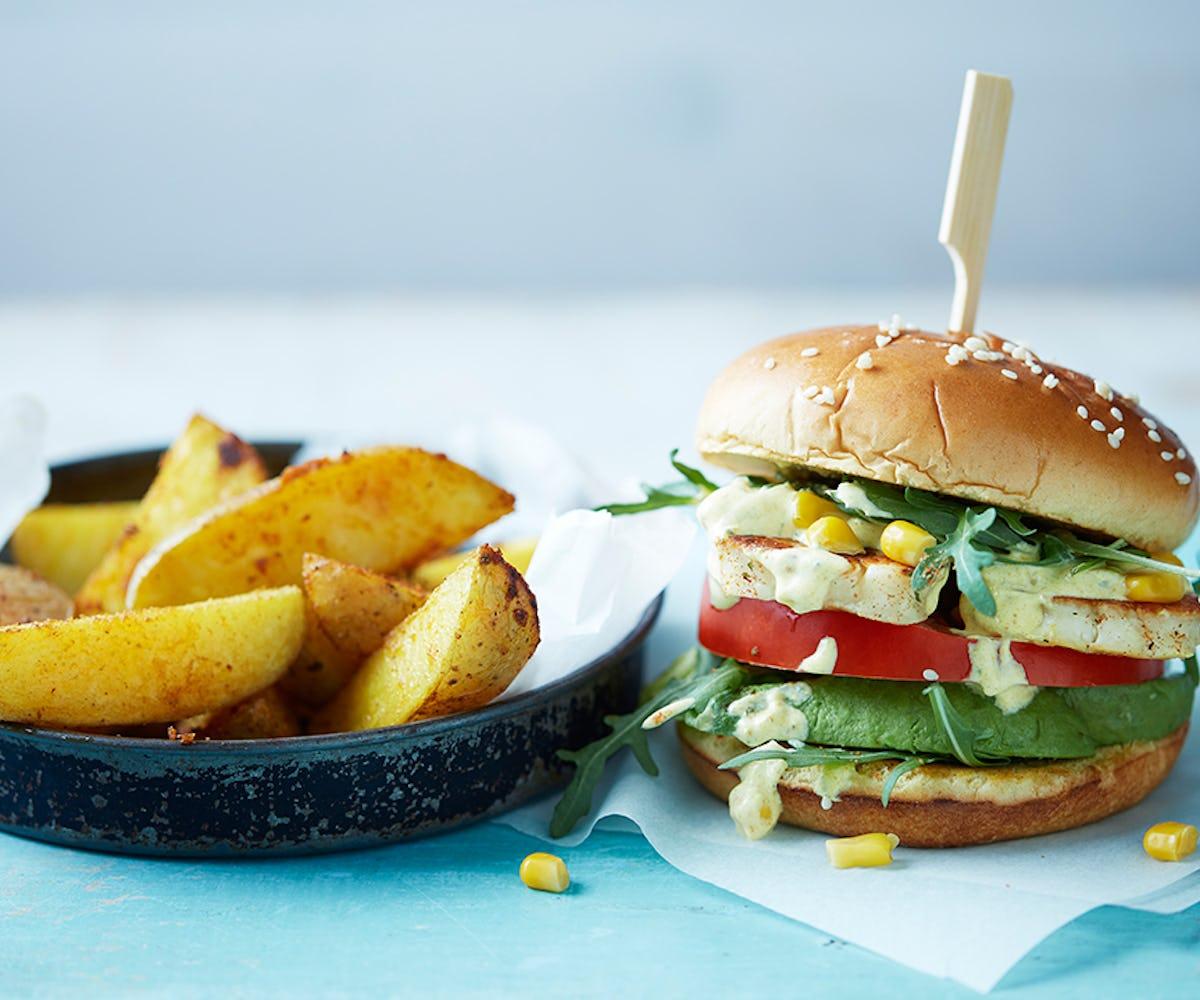 Churrasco Halloumi Burger