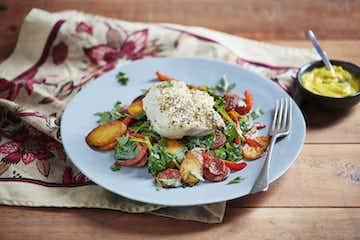 Spanish Cod & Chorizo Hash
