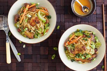 Indochinese Hakka Noodles