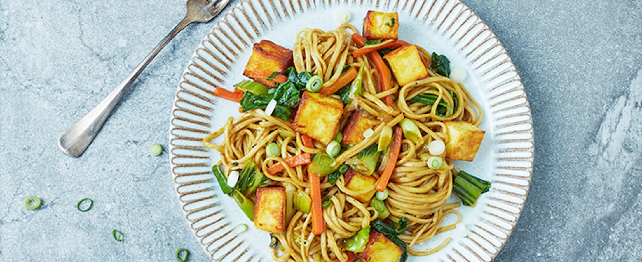Indochinese Hakka Noodles