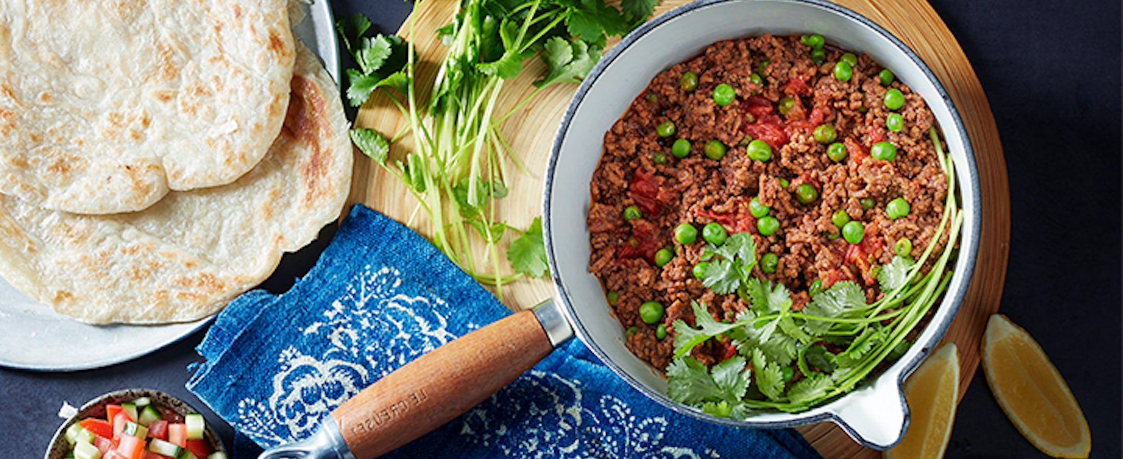 Cook Lamb Keema Matar in 25 mins | Simply Cook