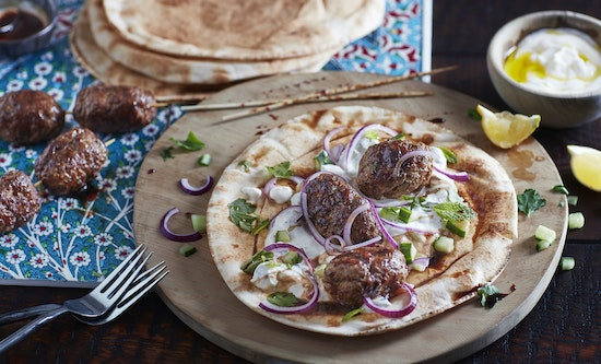 Lamb Kofta Flatbreads