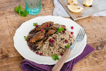 Moroccan Chicken with Pomegranate Molasses