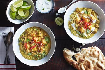 Red Lentil & Squash Curry
