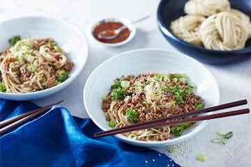 Sichuan Dan Dan Noodles - V