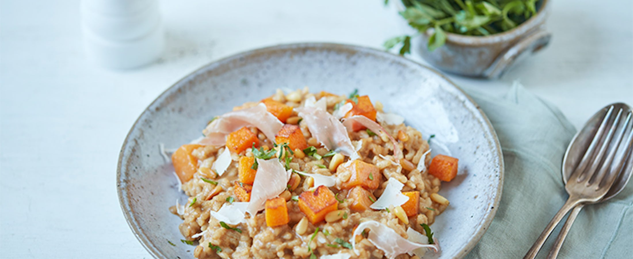 Spiced Butternut Squash Risotto