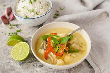 Thai Yellow Fish Curry